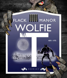 Flack's Wolfie T real ale