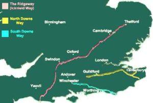 Icknield-way map