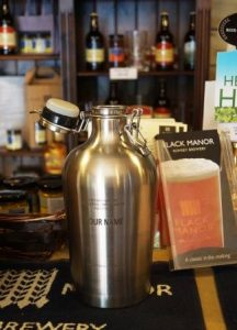 flack Flask in Flak Shack brewery shop