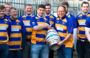 Flack Manor sponsors Romsey Rugby Football club shirts