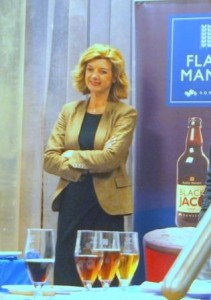 Beer Sommelier Annabel Smith