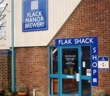 Flak Shack brewery shop