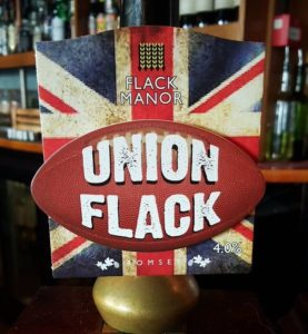 Union Flack new pump clip 6 nations