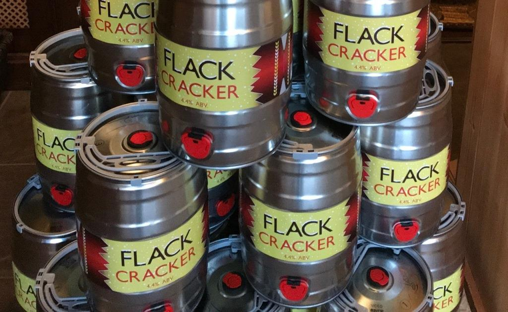 Flack Cracker Mini Kegs