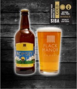 National Award winning Romsey Gold
