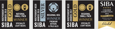 Flack Manor Brewery Real Ale Awards
