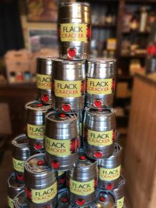 Flack Cracker mini kegs